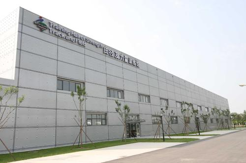中国(亚洲)残疾人体育运动管理中心木地板打磨翻新案例