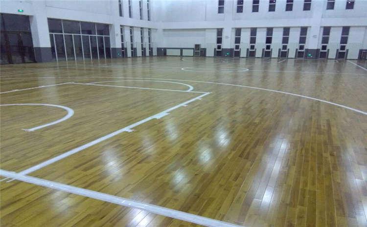 硬木企口运动木地板翻新多少钱一平?