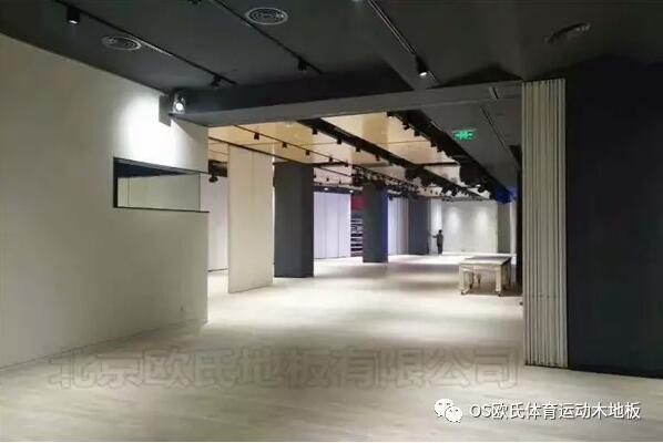 韩国大使馆文化院多功能厅体育地板成功案例-图1