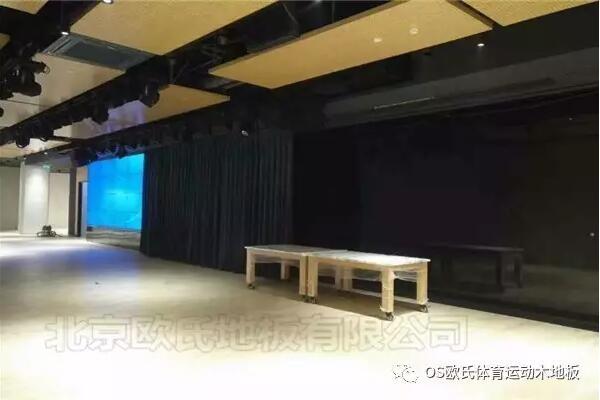 韩国大使馆文化院多功能厅体育地板成功案例-图5
