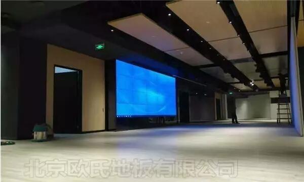 韩国大使馆文化院多功能厅体育地板成功案例