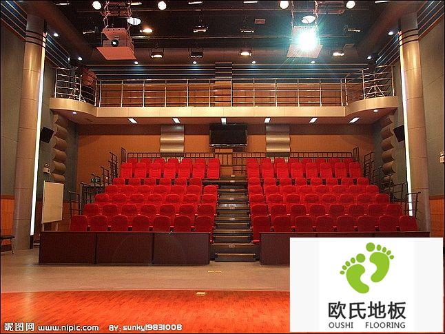 实木运动地板之舞台用木地板