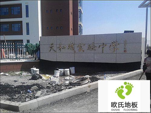天津天和城实验中学室内篮球馆BOB棋牌app下载工程案例