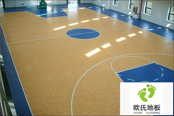 实木篮球馆地板安装技术
