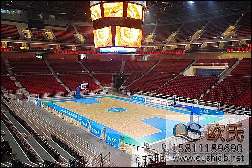 室内篮球场BOB棋牌app下载慎用低端体育地板