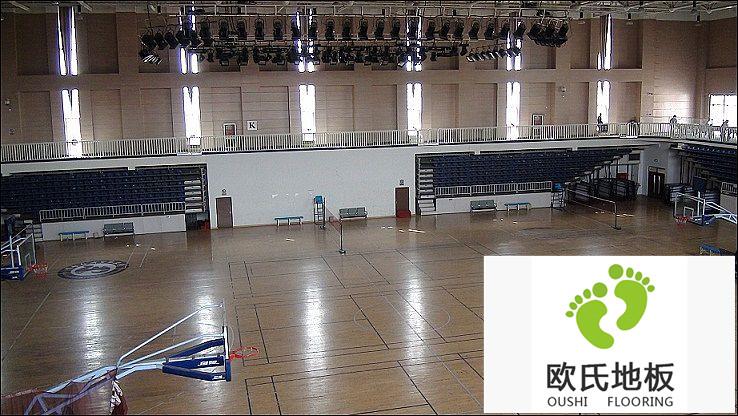 体育馆专用地板怎么做干燥处理