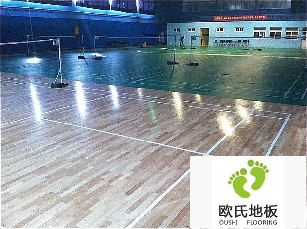 羽毛球运动地板选购有什么技巧?