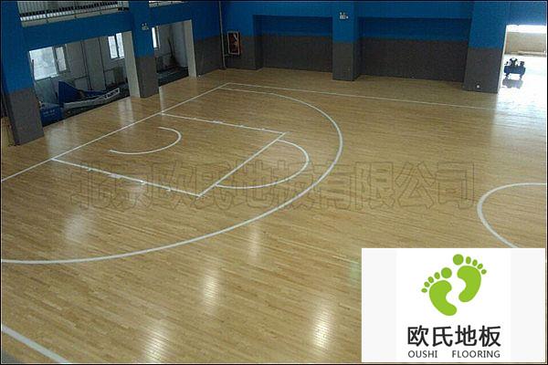 室内运动木地板的功能特点!