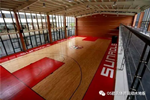 泉州盛荣集团篮球馆地板成功案例
