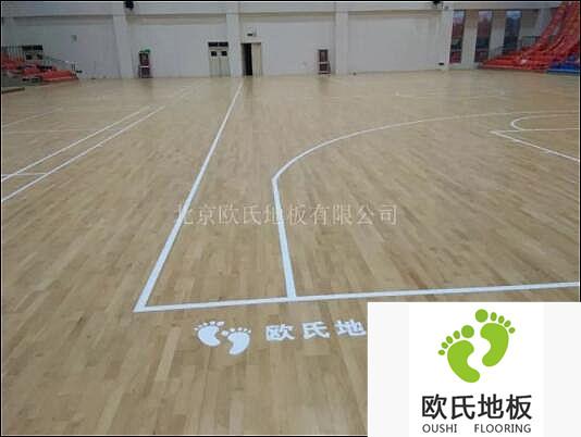 地热型的室内体育馆木地板在施工中的注意事项