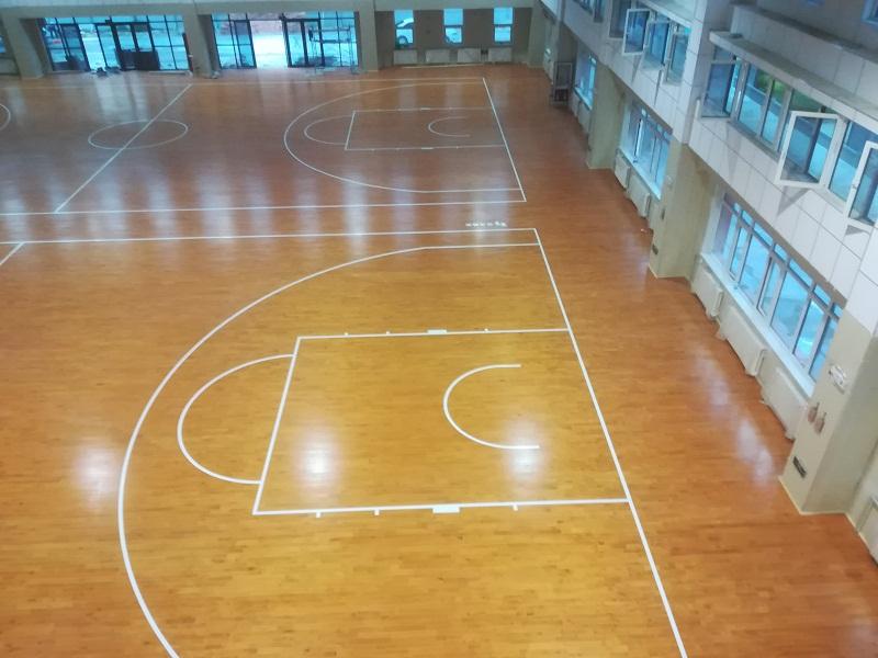 宁海银川实验中学体育馆篮球场BOB棋牌app下载竣工验收