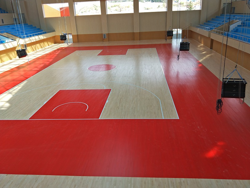 篮球木地板的安装结构及性能特点是什么
