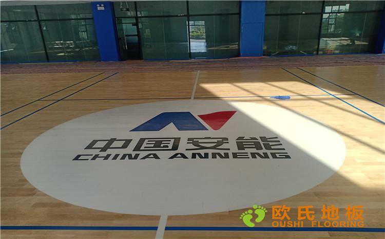 广西安能篮球馆木地板项目案例