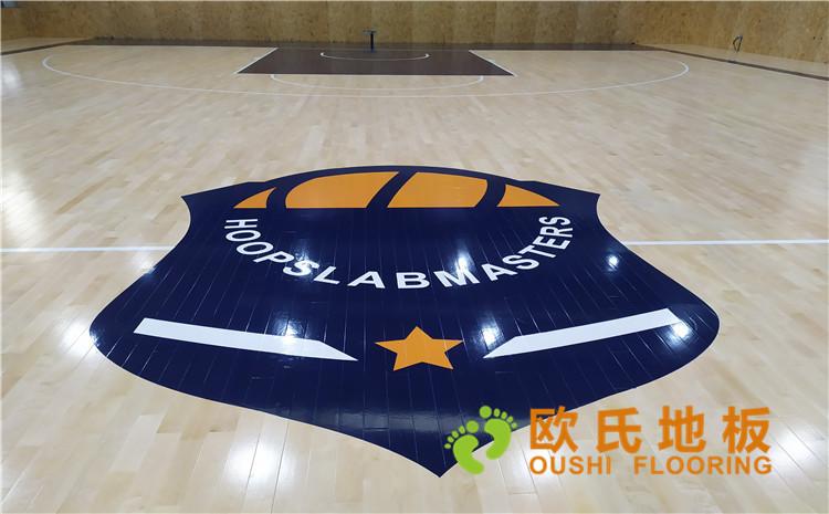 江苏博瑞祥公司篮球馆木地板案例