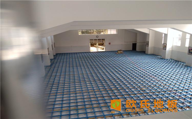 云南省个旧市绿春小学体育馆木地板项目