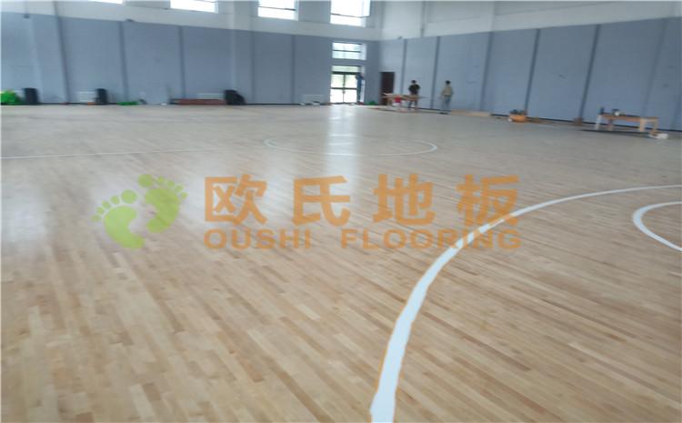 新疆沙雅县顺北油田篮球馆BOB棋牌app下载案例
