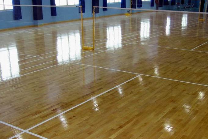 体育地板 篮球运动地板 运动木地板
